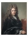 Portrait de Robert de Cotte (1656-1735), architecte, dessinateur Giclée-Druck von Joseph Vivien