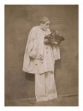 Pierrot à la corbeille de fruits Giclee Print by Gaspard Félix Tournachon