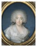 Portrait de Marie-Josèphe de Savoie (1753 -1810), comtesse de Provence Giclee Print by Joseph Boze