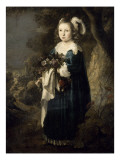 Portrait d'une fillette Giclee Print by Govaert Flinck