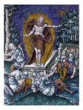 Plaque : la résurrection Giclee Print by Pierre Reymond