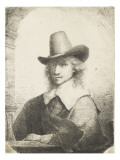 Portrait d'homme Lámina giclée por Ferdinand Bol