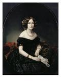Portrait de la baronne de Weisweiller Giclee Print by Federico de Madrazo y Kuntz