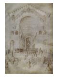 Présentation de la Vierge Giclee Print by Jacopo Bellini