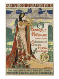 Affiche publicitaire Herstal Reproduction proc&#233;d&#233; gicl&#233;e