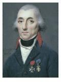 Portrait de l'amiral de Jean Gaspard Vence (1747-1808) Giclee Print by Charles Guillaume Alexandre Bourgeois