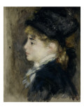 Portrait, dit de Margot Reproduction procédé giclée par Auguste Renoir