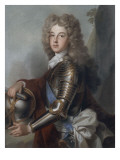 Portrait of France Philip, Duke of Anjou (1683-1746) Giclée-Druck von Joseph Vivien
