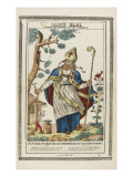 Saint Eloi, Patron Saint of Blacksmiths and Marshals Giclee Print