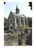 Remains of the Abbey Church of Port Royal Des Champs Giclee Print