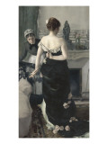 Retour du bal Giclee Print by Alfred Roll