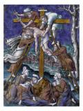 Plaque : Descente de croix Giclee Print by Pierre Reymond