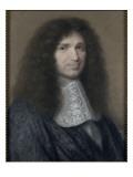Portrait de Jean-Baptiste Colbert (1619-1683), intendant des Finances de Louis XIV Giclee Print by Robert Nanteuil