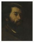 Portrait de l'artiste Giclée-Druck von Antoine Vollon