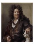 Portrait of Francis Girardon (1628-1715), Sculptor Giclee Print by Joseph Vivien