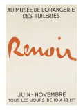 Poster: Renoir Mus&#233;e De L&#39;Orangerie in the Tuileries Giclee Print