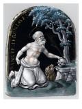 Plaque: Saint Jérôme Giclee Print by Pierre Reymond
