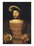 Portrait de François Ier Giclée-Druck von Joos Van Cleve