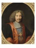 Portrait de Michel II Le Tellier (1603-1683), marquis de Barbezieux Giclee Print by Robert Nanteuil