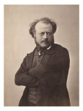 Auguste Pr&#233;ault (1809-1879), sculpteur Reproduction proc&#233;d&#233; gicl&#233;e par Gaspard F&#233;lix Tournachon