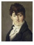 Portrait d'Auguste François Talma, enseigne de vaisseau, neveu du tragédien Talma Giclée-Druck von Jean-Auguste-Dominique Ingres