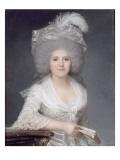 Portrait de Jeanne-Louise-Henriette Genet, épouse Campan (1752-1822) Giclee Print by Joseph Boze