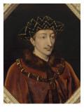 Portrait de Charles VII, roi de France (1403-1461), dit le Victorieux Giclee Print by Henri Lehmann