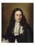Portrait d'un jeune homme de la famille Chigi Giclée-Druck von Jacob Ferdinand Voet