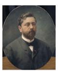 Portrait de Gustave Eiffel (1832-1923) Lámina giclée por  Vieusseux