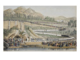 Procession of April 4, 1864 at the Grotto of Lourdes Giclee Print