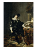 Portrait d&#39;homme Reproduction proc&#233;d&#233; gicl&#233;e par Thomas de Keyser