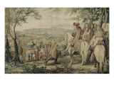 Reduction of Marsal in Lorraine, on 1 September 1663 Giclee Print by Brun Charles Le