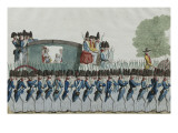 Return of the Royal Family in Paris, June 25, 1791 Giclee Print