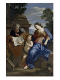 Le Repos de la Sainte Famille Giclee Print by Giovanni Francesco Romanelli