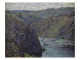 Ravin de la Creuse au déclin du jour Giclee Print by Claude Monet