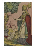 Saint Cornely, protecteur des bestiaux Giclee Print