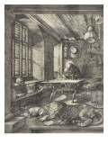 Saint Jérôme dans sa cellule Giclée-Druck von Albrecht Dürer