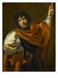 Saint Guillaume d'Aquitaine Giclée-Druck von Simon Vouet