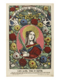 Sainte Agathe, vierge et martyre Giclee Print