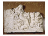 Relief Allegorical Personification of Mother Earth Giclee Print