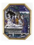 Plaque : la mise au tombeau Giclee Print by Pierre Reymond