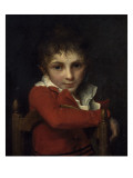 Portrait du Docteur Delzeuze enfant Impression giclée par Jacques-Louis David