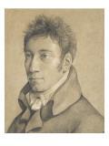 Portrait de Christian Friedrich Gottlieb Schadow Giclée-Druck von Johann Gottfried Schadow - johann-gottfried-schadow-portrait-de-christian-friedrich-gottlieb-schadow