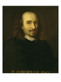 Portrait of Pierre Corneille (1606-1694), Playwright Giclee Print by Charles Le Brun