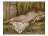 Nu couché, vu de dos ou Le repos après le bain Giclee Print by Pierre-Auguste Renoir