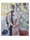 Portrait de madame Moreau Wouters Giclee Print by Rik Wouters