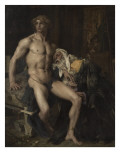 Priam aux pieds d'Achille Giclee Print by Jules Bastien-Lepage