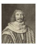 Pomponne de Bellièvre (1606-1657) Giclee Print by Robert Nanteuil