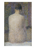 Poseuse de dos Giclee Print by Georges Seurat