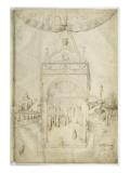 Présentation au temple Giclee Print by Jacopo Bellini